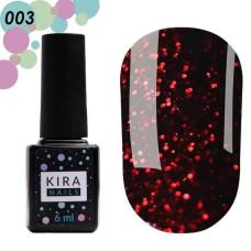 Гель лак Red Hot Kira Peppers №3, 6мл