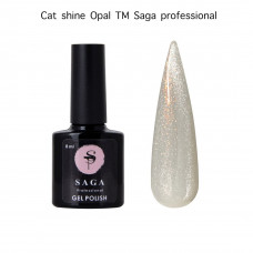 Гель-лак Saga Professional Cat Opal, 8 мл