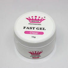 Акрил Гель Master Professional Fast Gel, 15г (Clear)