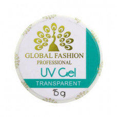 Гель Global Fashion Transparent (прозрачный), 15 g