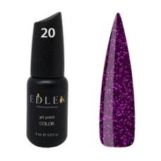 Гель-лак EDLEN №20 (Фиолетовое сияние ) 9 мл