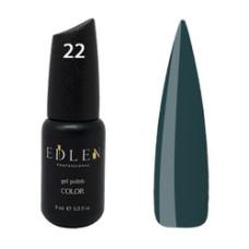 Гель-лак EDLEN №22 (Аспидно-серый) 9 мл