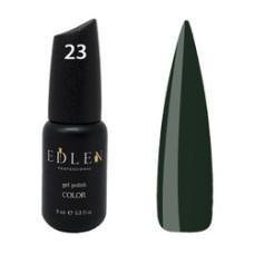 Гель-лак EDLEN №23 (Зелёный папоротник) 9 мл