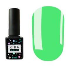 Гель-лак Kira Nails №24 (салатовый, эмаль) 6 мл