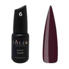 Гель-лак EDLEN №6 (Спелая вишня) 9 мл