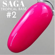 База цветная Saga Tropical №02, 8мл