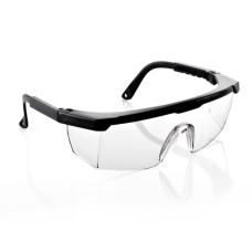 Защитные очки для мастера маникюра и педикюра (черные)
