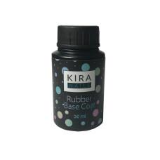 Kira Nails Rubber Base Coat - каучуковое, базовое покрытие, без кисти, 30 мл