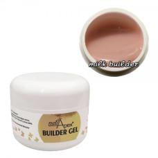 Без опила Моделирующий гель Milk Builder Nailapex (50 грамм)