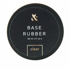F.O.X Base Rubber – базовое покрытие для гель-лаков, 30 мл (банка)