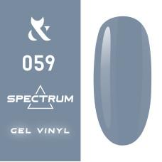 Гель лак F.O.X Spectrum № 059, 7 мл