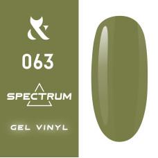 Гель лак F.O.X Spectrum № 063, 7 мл