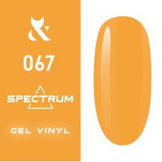 Гель лак F.O.X Spectrum № 067, 7 мл