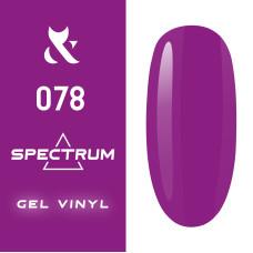 Гель лак F.O.X Spectrum № 078, 7 мл