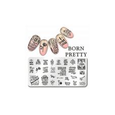 Пластина Born Pretty для стемпинга